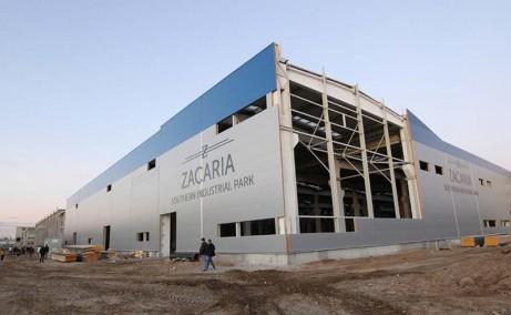 Southern Industrial Park inchirieri spatii de depozitare Craiova sud vedere laterala