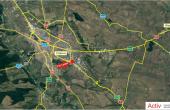Southern Industrial Park inchirieri spatii de depozitare Craiova sud vedere din satelit amplasare