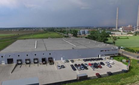 Border Industrial Park Arad inchirieri parcuri industriale Arad nord vedere satelit fatada