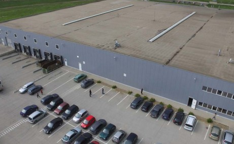 Border Industrial Park Arad inchirieri parcuri industriale Arad nord vedere curte interioara hala