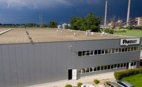 Border Industrial Park Arad inchirieri parcuri industriale Arad nord vedere fatada