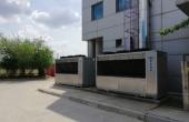 Hala DESPEC – Bucuresti spatii depozitare de inchiriat Bucuresti vest vedere laterala instalatie climatizare