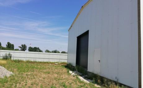 Hala Industriala Magurele inchiriere spatiu depozitare Bucuresti sud-vest vedere gard imprejmuire incinta