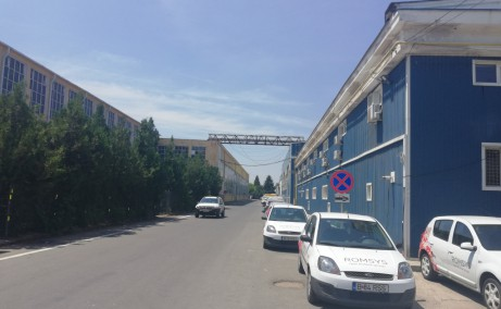 Hala Industriala Otopeni hale industriale de inchiriat Bucuresti nord vedere laterala de ansamblu
