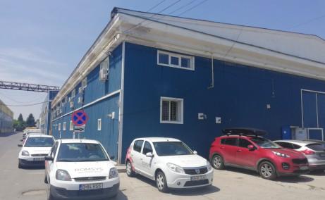 Hala Industriala Otopeni spatiu de depozitare Bucuresti nord vedere interioara acoperis