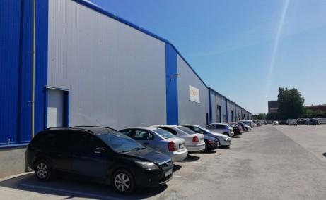 Logistic Park Constanta inchiriere spatii depozitare Constanta vest vedere laterala dreapta