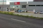 Mecodis inchirieri spatii depozitare si productie Brasov vest vedere intrare