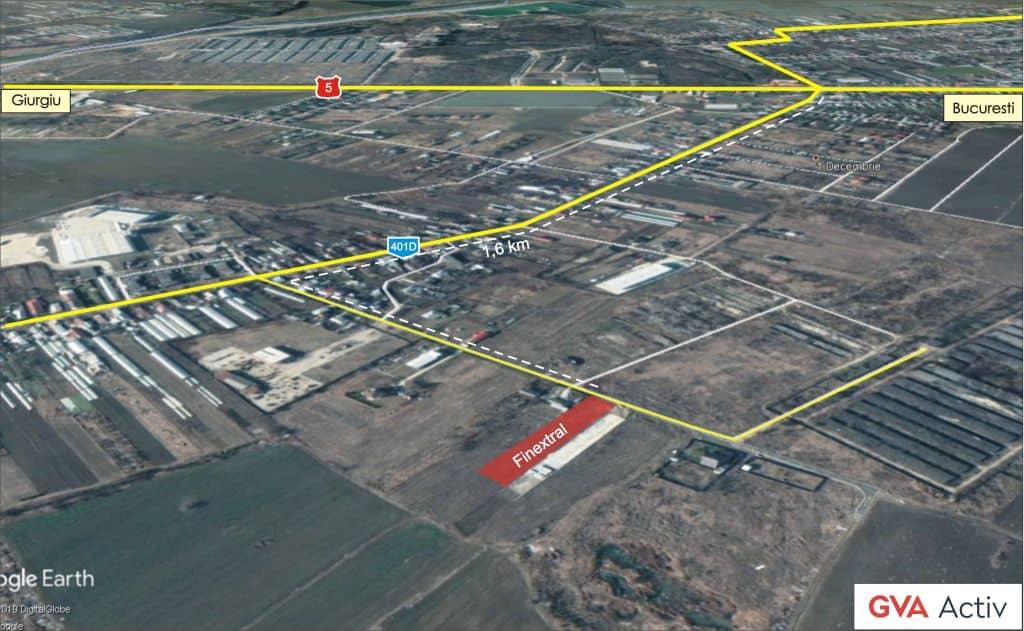 Hala Industriala Noua Zona 1 Decembrie Bucuresti Sud