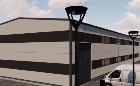 Finextral Copaceni inchirieri hale industriale Bucuresti sud acces garaj