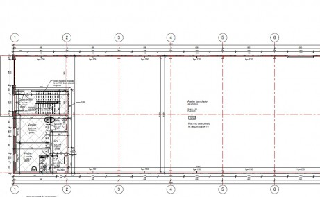 Finextral Copaceni inchirieri hale industriale Bucuresti sud plan cadastral cladire
