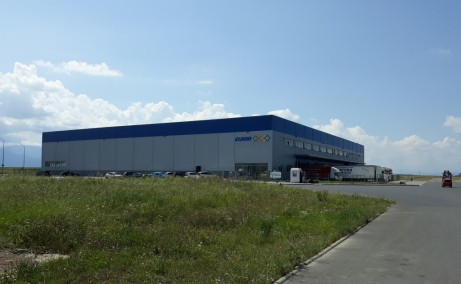 Parcul Industrial Prejmer inchiriere spatiu depozitare Brasov nord est vedere laterala