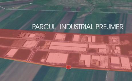 Parcul Industrial Prejmer inchirieri parcuri industriale Brasov nord est vedere satelit