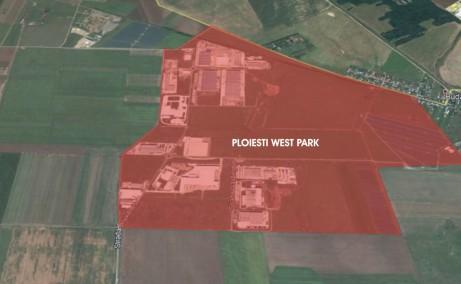 Ploiesti West Park inchirieri hale Ploiesti vest delimitare proprietate