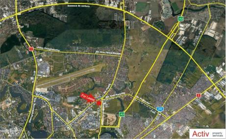 Hala Pipera inchiriere spatiu depozitare Bucuresti nord vedere din satelit