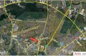 Hala Pipera hale industriale de inchiriat Bucuresti nord localizare vedere din satelit