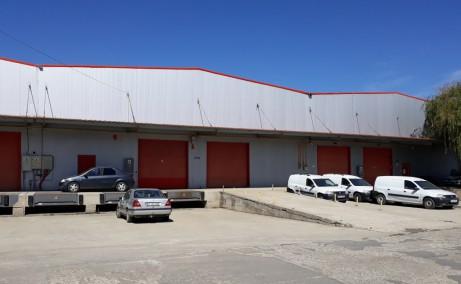 Domnesti Business Park spatiu depozitare Bucuresti vest vedere exterioara spatii