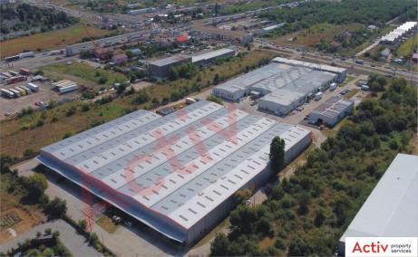 Domnesti Business Park inchiriere hala Bucuresti vest vedere depozite