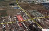 Domnesti Business Park spatiu depozitare Bucuresti vest vedere din satelit amplasare