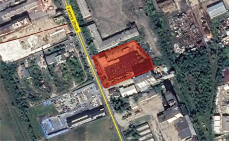 Fabricii 7A hala de inchiriat Baia Mare vest vedere satelit