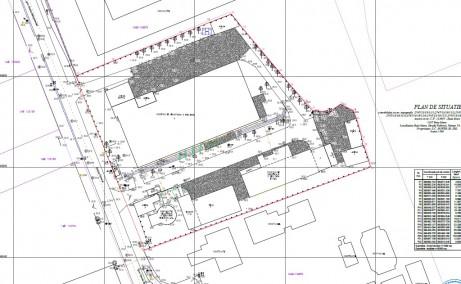 Fabricii 7A inchirieri proprietati industriale Baia Mare vest plan de situatie