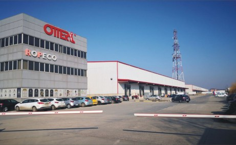 OTTER Distribution inchirieri parcuri logistice Bucuresti vest imagine acces parc logistic