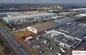 OTTER Distribution inchirieri parcuri logistice Bucuresti vest laterala cladire industriala