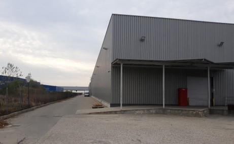 Aggresione Industrial Park inchiriere spatiu depozitare Bucuresti vest vedere laterala detaliu