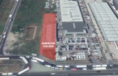 Showroom & Hala De Inchiriat Bucuresti vest localizare imobil din satelit