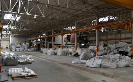 Hala Balotesti depozit de inchiriat Bucuresti nord hala interior structuri metalice