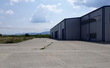 Hala industriala Brasov inchirieri spatii depozitare sau productiee Brasov  sud vedere lateral dreapta