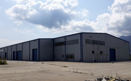 Hala industriala Brasov inchirieri spatii depozitare sau productie Brasov  sud vedere ansamblu laterala