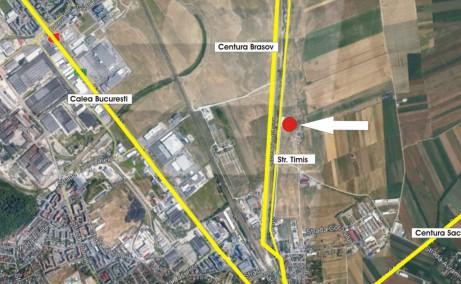 Hala industriala Brasov inchirieri spatii depozitare sau productie Brasov  sud localizare harta