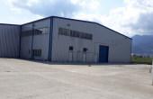 Hala industriala Brasov inchirieri spatii depozitare sau productie Brasov  sud vedere acces intrare