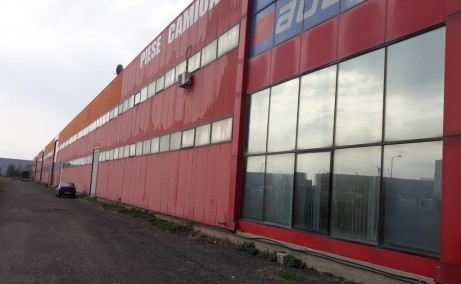Hala De Inchiriat Chiajna depozit de inchiriat Bucuresti limita de vest vedere laterala dreapta