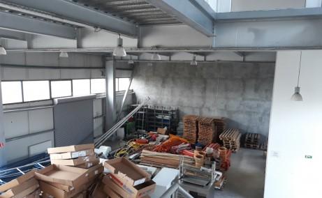 Hala De Inchiriat Chiajna depozit de inchiriat Bucuresti limita de vest vedere interior depozit
