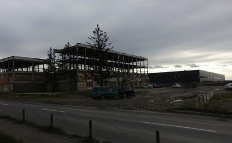 Mapcom Logistik Parc inchirieri parcuri industriale Targu Mures vest  vedereansamblu