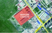 Mapcom Logistik Parc inchirieri parcuri industriale Targu Mures vest  vedere satelit