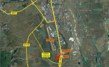 TRC Park Bacau inchirieri inchiriere spatii depozitare Bacau sud localizare