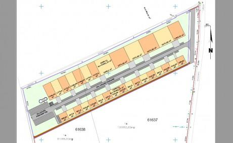 TRC Park Bacau inchirieri parcuri industriale Bacau sud plan cadastral cladire