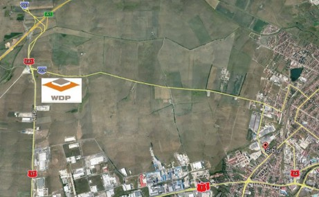 WDP Parc Industrial Sibiu inchiriere parcuri industriale Sibiu Vest localizare amplasament