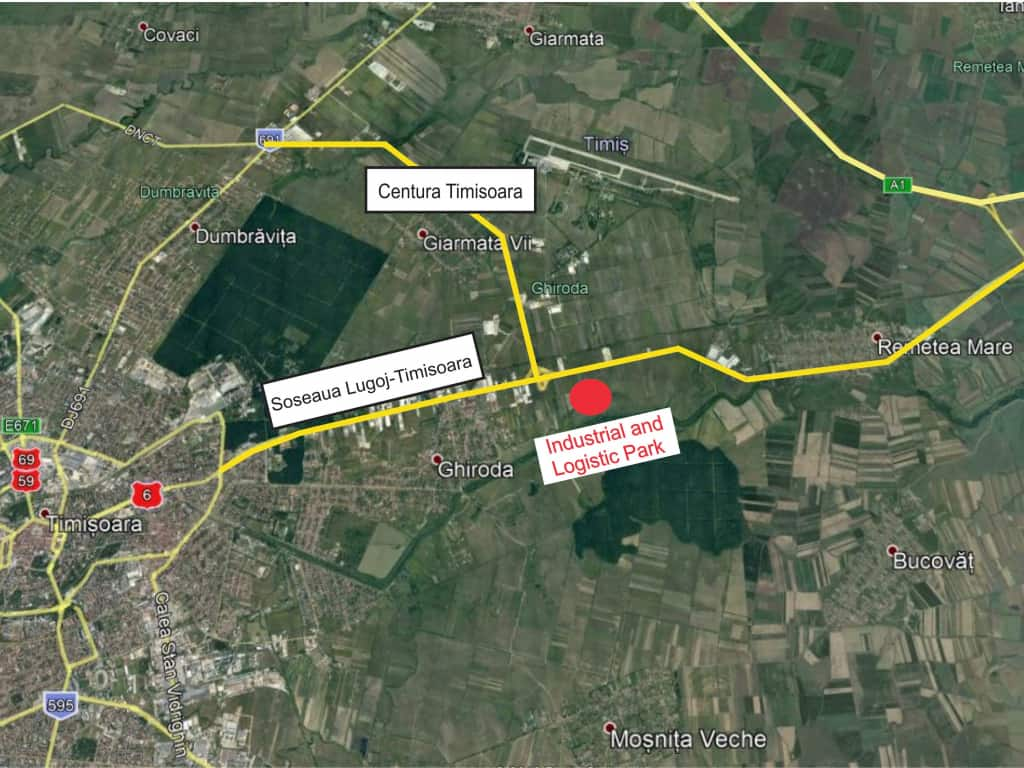 New Industrial Building With Small Areas To Let In Timisoara