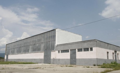RGI Business Park inchirieri proprietati industriale Orastie vest vedere fatada