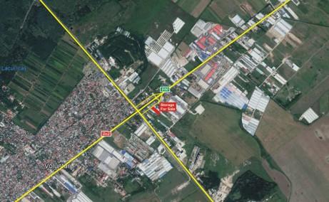 Hala moderna in Afumati spatiu depozitare Bucuresti nord est localizare vedere din satelit