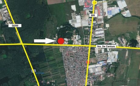 Hala de inchiriat Soseaua de Centura Bucuresti 2-4 spatiu de depozitare Bucuresti nord-est vedere panoramica