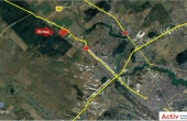 ELI Park 1 Chitila inchiriere spatiu de depozitare Bucuresti nord-vest vedere localizare din satelit