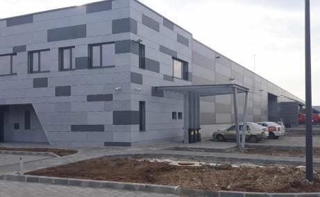 Aggresione Warehouse 2 inchiriere spatiu de depozitare Bucuresti vest vedere laterala