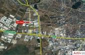 Aggresione Warehouse 2 inchiriere spatiu de depozitare Bucuresti vest vedere din satelit
