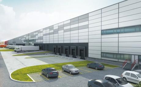 Global Logistic Park inchirieri parcuri logistice Bucuresti nord- vest vedere fatada