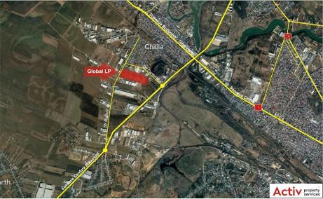 Global Logistic Park inchirieri parcuri logistice Bucuresti nord- vest vedere panoramica