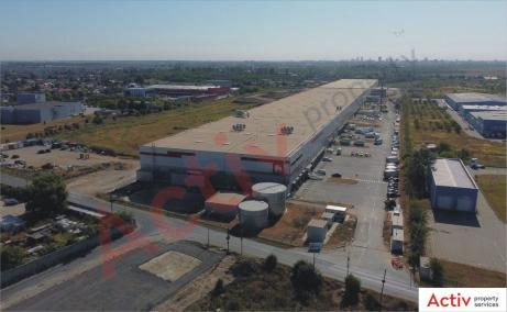 Global Logistic Park inchiriere hala Bucuresti nord- vest vedere de ansamblu parc logistic